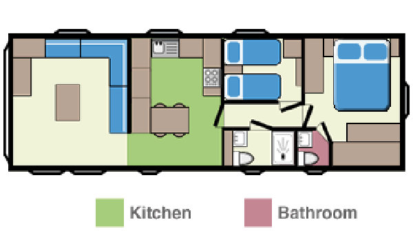 Club Holiday Home Floorplan